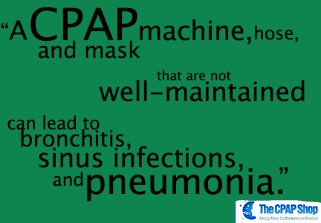 How to Avoid Pneumonia While Using a CPAP Machine