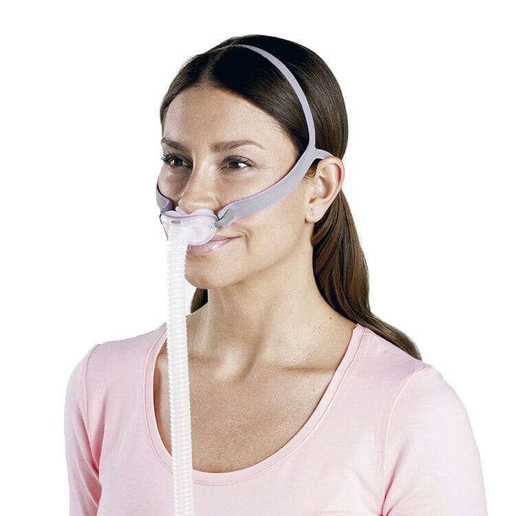 Resmed Airfit P10 For Her Nasal Pillow Cpap Mask With Headgear